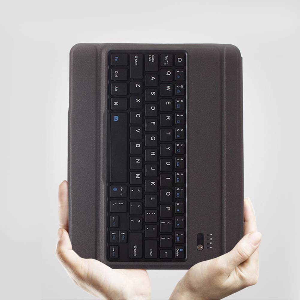 RONSHIN Desktop 9.7 inch Mini Rechargeable Wireless Bluetooth Keyboard Long Standby Time for Air1// Air2 etc