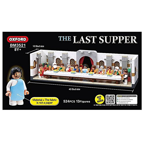 The Last Supper BM3521 Brick For Mania Play Set Building Blocks 524PCS Oxford