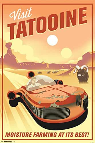 Trends International Star Wars Tatooine Collector's Edition Wall Poster 24