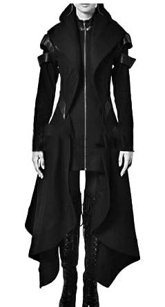 Gocgt Traje de Esmoquin para Mujer Estilo gótico de Sastre ...