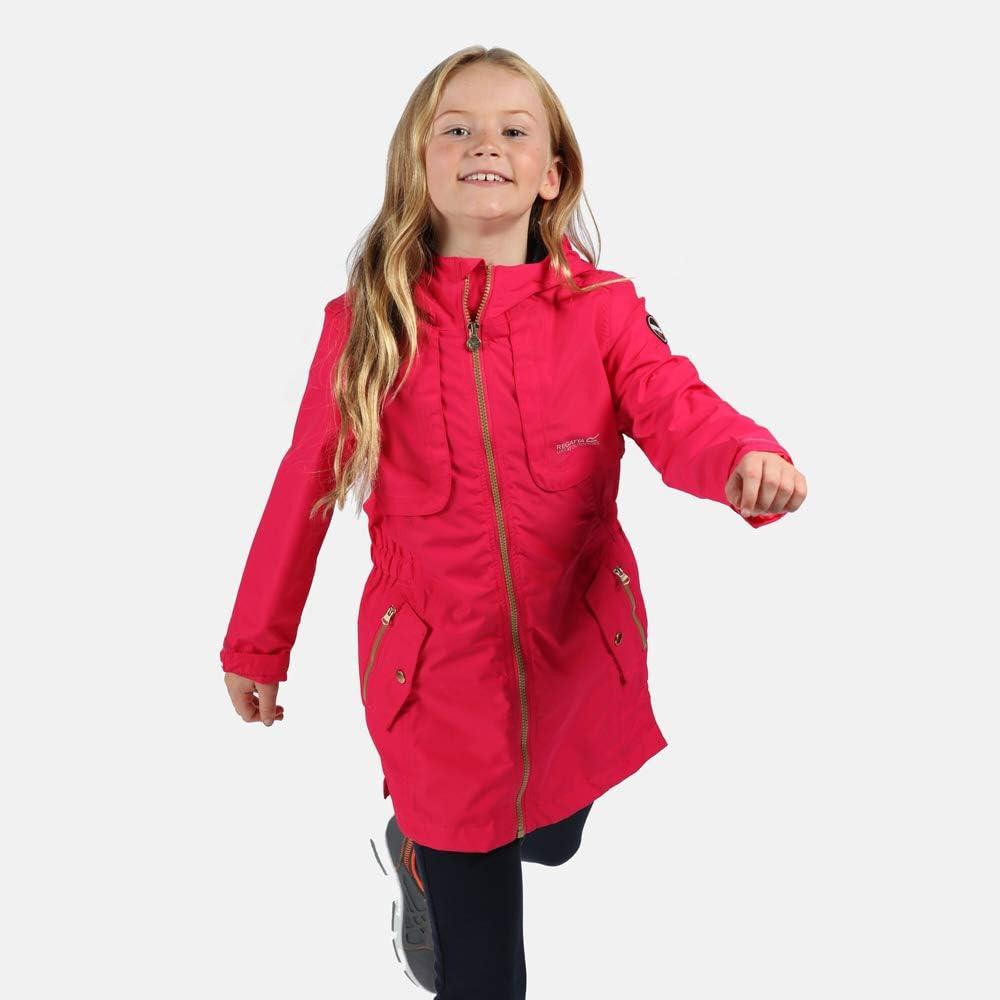 Regatta Kids Tarana Waterproof Breathable Fully Lined Parka With Reflective Trim Jackets Shell
