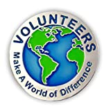 PinMart's Volunteers Make a World of Difference 1'' Lapel Pin