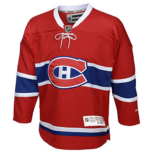 Montreal Canadiens Reebok Toddler Replica Home NHL Hockey Jersey (2-4T) - Toddler Replica Hockey Jersey