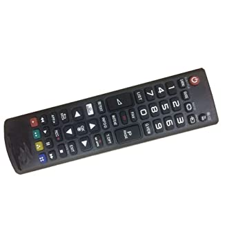 Easy Replacement Remote Control for LG 32LB550B-UC 49LB5510-TC