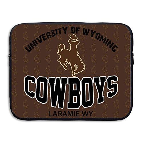 FKKTee University Of Wyoming Cowboys Laramie 13 15 Inch Laptop Sleeve