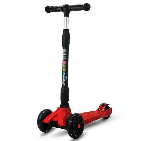Scooters - Patinete Plegable para niños con Ruedas de 4 ...