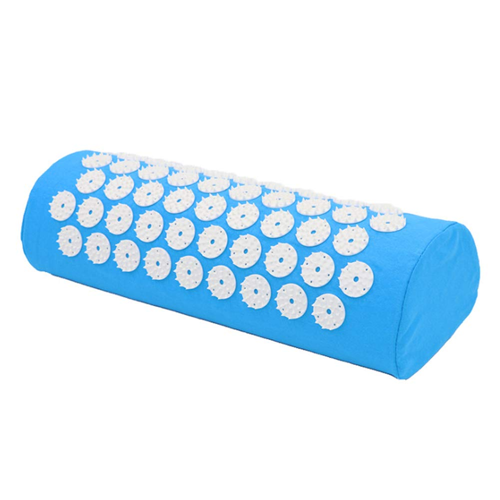 Durable Light Blue Pillow diallent13 Yoga Sport Mat Acupressure Massage Relieve Stress Pain Tension Carpet//Pillow Soft