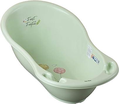 livraison rapide hot-vente authentique Beau design Baignoire bébé avec thermomètre Vert Forest 86 cm