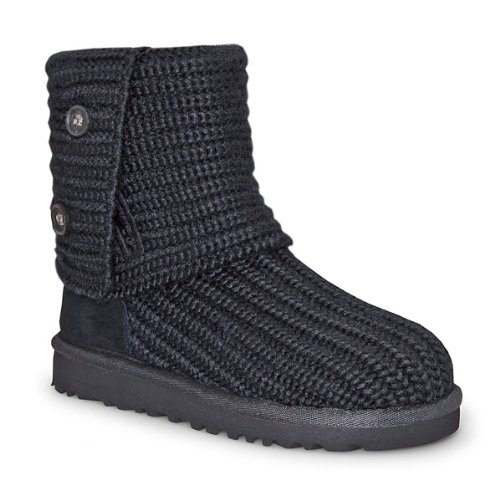 Ugg Australia Cardy Youth US 11 Black Winter Boot