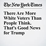 There Are More White Voters Than People Think. That's Good News for Trump | Nate Cohn