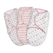 SwaddleMe Original Swaddle 3-PK, Fly Away, Large