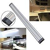 50cm DC 12V LED Under Cabinet Cupboard Shelf Strip Light For Home Kitchen