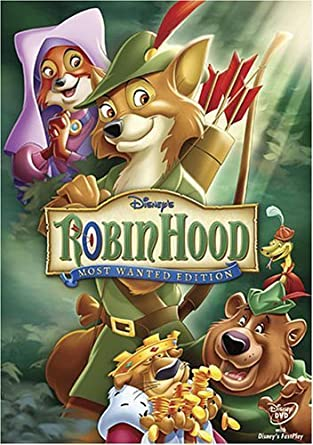 Amazon Com Robin Hood Most Wanted Edition By Walt Disney Video