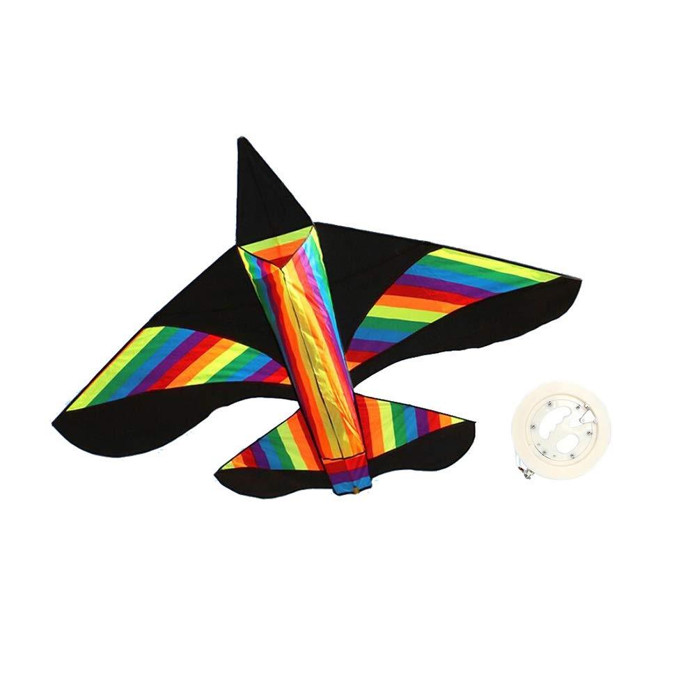 Line length 300m ZHWEI Drachen Drachen Flugzeug Kite Leitungslänge 100 300   400m Erwachsene Kinder Anfänger Einfacher Flugtyp (größe   Line Length 300m)