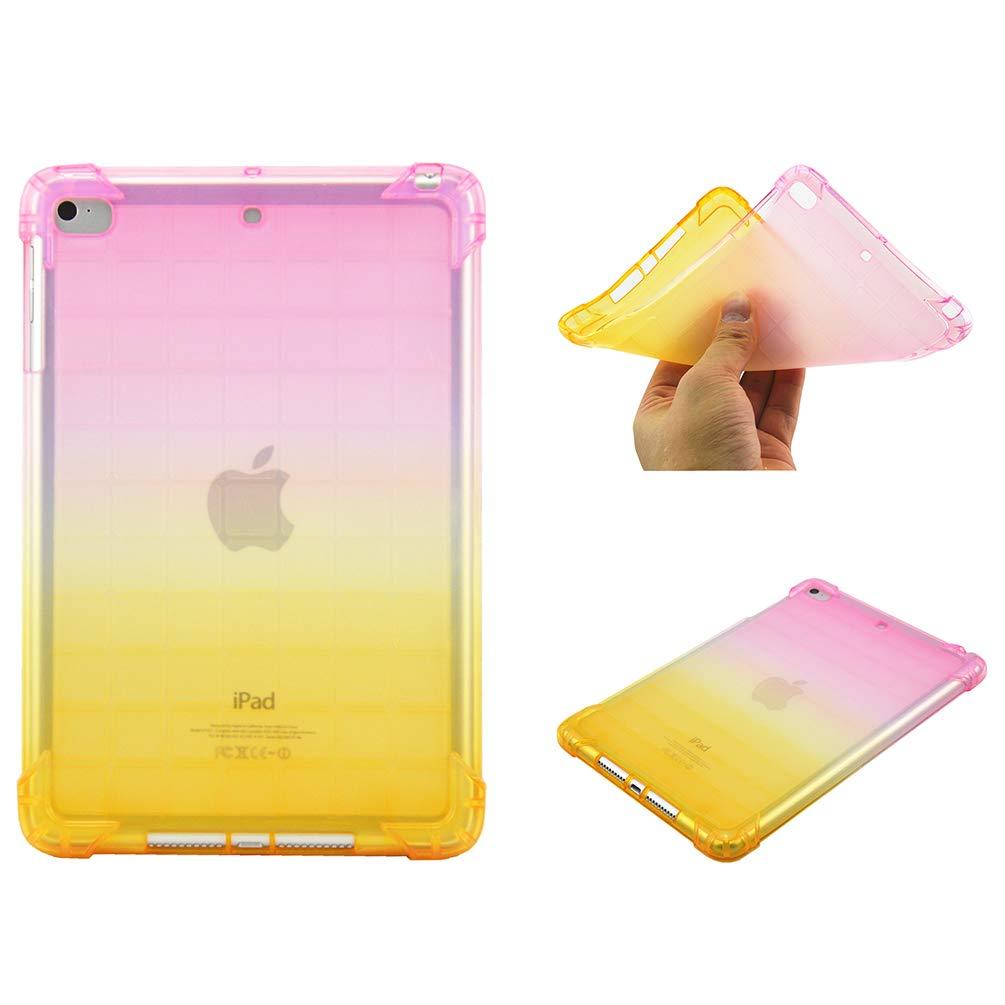 人気ブランド iPad 耐衝撃 Mini 4ケース B07KS5JSRJ、クリアカラーグラデーションケース スタイリッシュエアクッション 落下耐性 耐衝撃 イエロー ソフトTPUバンパーシェル 衝撃吸収 超薄型ゴムシリコンジェルTPUタブレットカバー iPad Mini 3/2/1用 イエロー US-S/103770 イエロー B07KS5JSRJ, ミナミウオヌマグン:dcbc045e --- a0267596.xsph.ru
