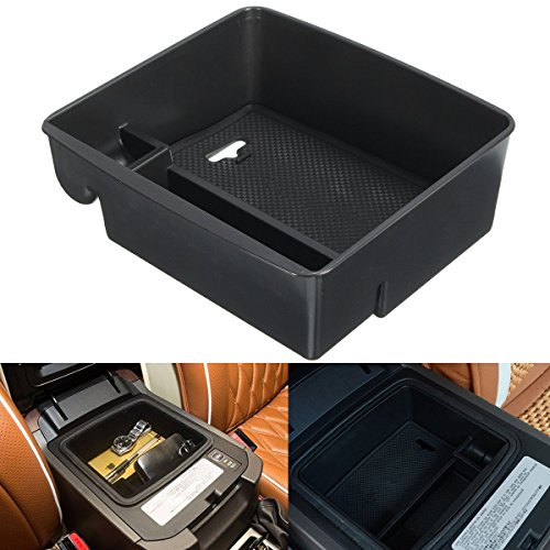 MONNY 1 Set Armrest Box Storage With Mat For Toyota Land Cruiser Prado FJ120 FJ150 2004-2015 Car Center Storage Boxes Holder by MONNY