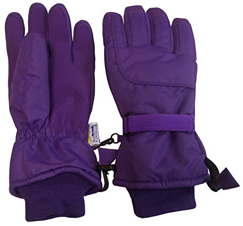 N'Ice Caps Adults Unisex Extreme Cold Weather 80 Gram Thinsulate Waterproof Ski Gloves