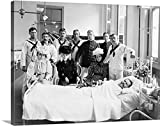 greatBIGcanvas Gallery-Wrapped Canvas entitled Sailors and women visiting a patient at the Brooklyn Navy Yard Hospital, 1900 by Great BIG Canvas 36''x27''