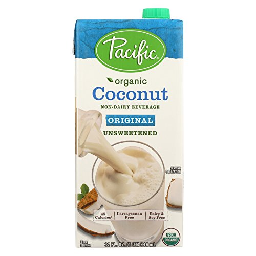 Pacific Natural Foods Coconut Original - Unsweetened - Case of 12 - 32 Fl oz. by Pacific Natural Foods