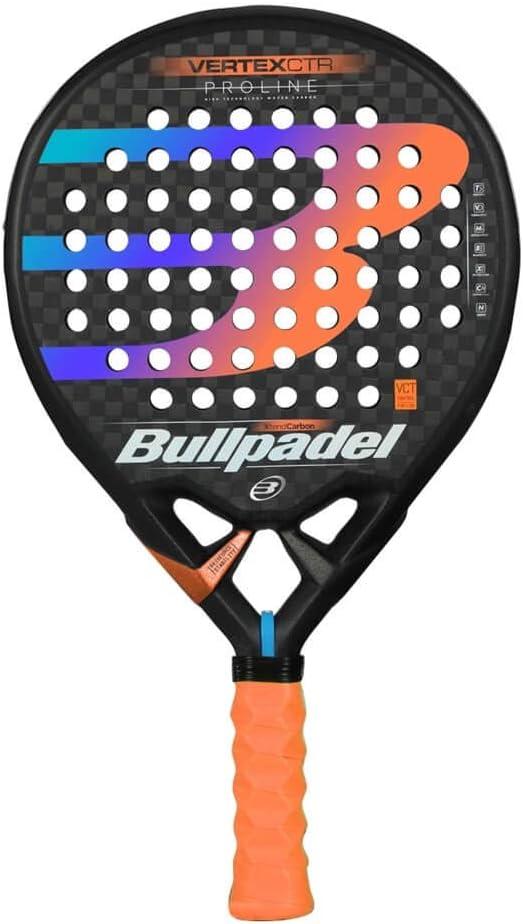 Bullpadel Vertex 02 Control Palas, Adultos Unisex, Negro, 380