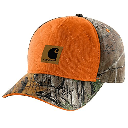 (Carhartt Men's 102294 Upland Quilted Cap - One Size Fits All - Realtree Xtra)