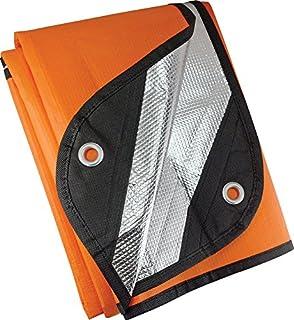 Amazon se eb5982or extra heavy duty thermal reflective ust survival blanket 20 orange publicscrutiny Gallery