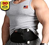 Concealed Holster for Women - Concealed Carry Holsters for Men - IWB Holster for Women - Carry holster - Elastic Waistband Holster - 9mm Gun Holsters for Women - Belly Band Holster - Conceal Holster