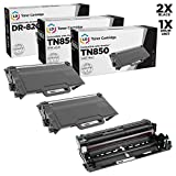 LD Compatible Brother TN850 / DR820 (2 Toners & 1 Drum) 3PK for DCP-L5500DN, DCP-L5600DN, DCP-L5650DN, HL-L5000D, HL-L5100DN, HL-L5200DW, HL-L5200DWT, HL-L6200DW, MFC-L5850DW, MFC-L5900DW