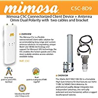 Mimosa C5C Connectorized Client 5GHz MIMO + Antenna Omni + cable 2 UNITS
