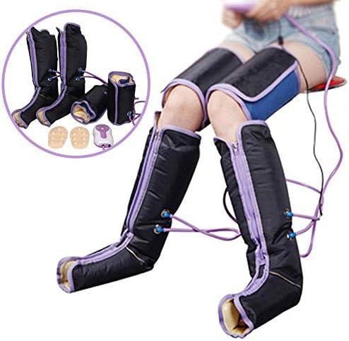 脚マッサージャー電動空気圧縮ラップ足首ふくらはぎセラピー疲労マッサージ緩和血液循環の促進バイブレーター