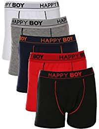 Boys 5 Pack Classic Boxer Briefs Underwear Boxers for Boy