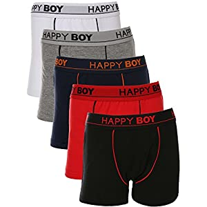 Dimore Boys 5 Pack Classic Boxer Brief – Colors May Vary(6-8YR)