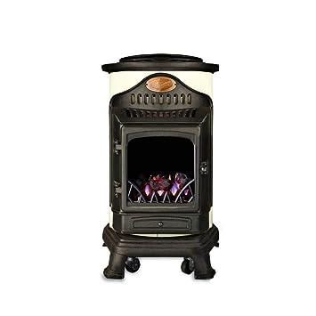 Provence - Calefactor de gas (hierro fundido, efecto estufa ...