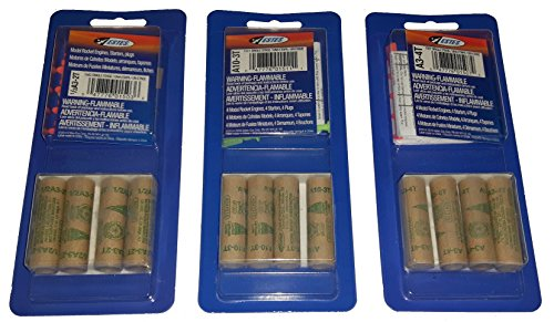Estes 1/2A3-2T, A10-3T, A3-4T Combo Bulk Pack – 1 Pack of Each for 12 Engines / Motors with Starters
