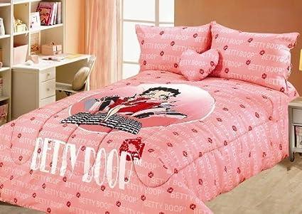 Betty Boop Queen Size Comforter, Sheet, Shams... Bedding Set   5