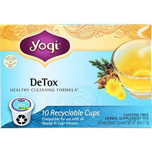 yogi detox single serve cups - 2