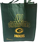 NFL Green Bay Packers 4X Super Bowl Champs Reusable Tote Bag