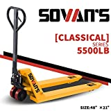SOVAN'S【Classical】 Manual Pallet Jack 5500lbs