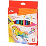 Deli EC00320 Deli Colored Pencil Good quality Lead for soft coloring EC00320-