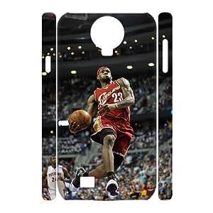 taoyix diy C-EUR Cell phone case LeBron James Hard 3D Case For Samsung Galaxy S4 i9500