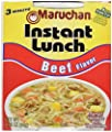 Maruchan Instant Lunch Beef Flavor Soup, 2.25 oz by Maruchan