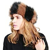 MissShorthair Faux Fur Headband-Neck Warmer for Winter Earwarmer Earmuff Hat Ski