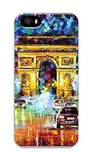 Le Arc De Triomphe Oil Painting Polycarbonate Hard 3D Case For Iphone 6 Plus 5.5 Inch Cover