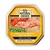 Nutro 791716 24-Pack Natural Choice Small Breed Dog Chicken/Brown Rice Entree, 3.5-Ounce