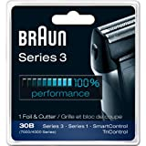 Braun Series 3 30b - Braun Series 3 Combi 30b Foil And Cutter Replacement Pack (7000/4000 Series) New Super Size Package (2 Replacements)