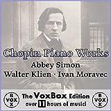 Chopin Piano Works (The VoxBox Edition) Album Cover
