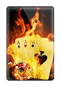 SAh784uZAm ErissionHerdezan Poker Fire Feeling Ipad Mini On Your Style Birthday Gift Covers Cases