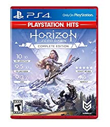Image of the product Horizon Zero Dawn that is listed on the catalogue brand of Sony. The product has been rated with a 4.8 over 5