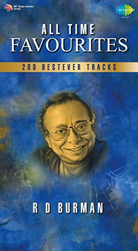 All Time Favourites R D Burman Best Hindi Tracks Songs 2 MP3 CDs