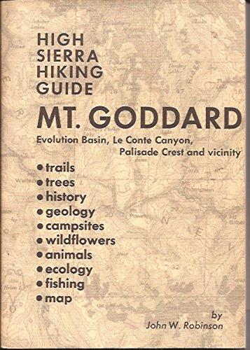 Mt. Goddard, (High Sierra hiking guide no. 10)